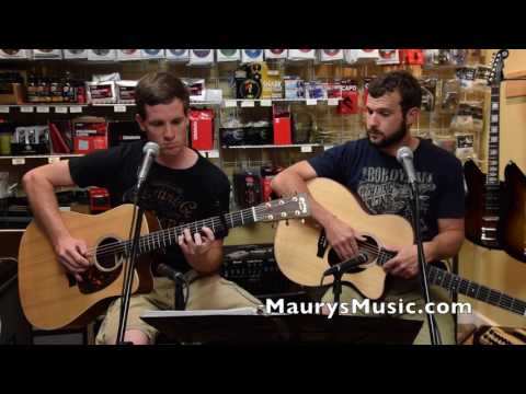 Tommy & Clay - Never Going Back Again (cover) at Maury's Music