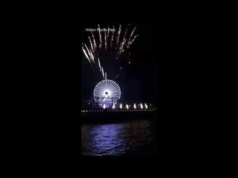 Pacific Park celebra 20 años en Santa Monica Pier con show de luces