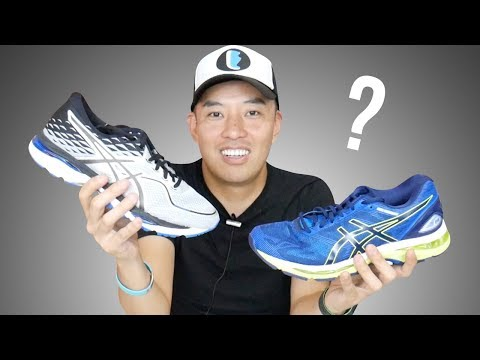 9cced17253 ASICS GEL-NIMBUS 19 vs GEL-CUMULUS 19 - YouTube