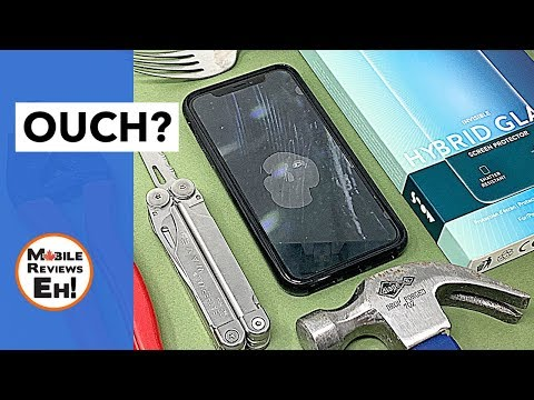 The TOUGHEST screen protector for ANY iPhone? Mous Hybrid Glass Review