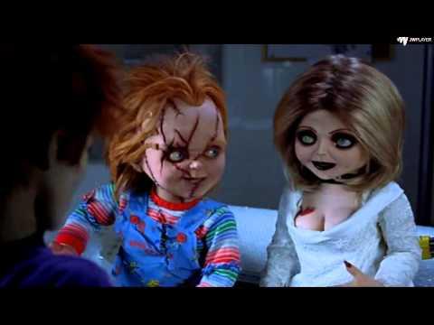 Chucky`nin Tohumu-Chucky Ve Tiffany `Bok Suratla Dalga geçmesi