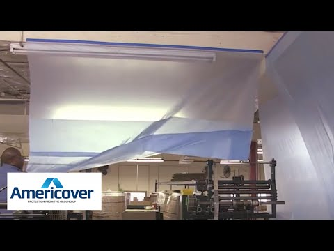 Easy Dust Protection with Rapid Wall Cover | Americover