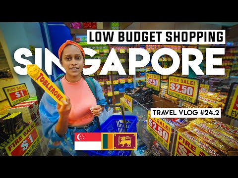 Low Budget Shopping | Singapore | Travel Vlog #24.2