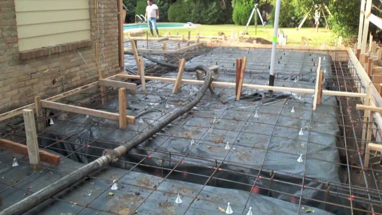 Concrete foundations youtube for Which cement is best for foundation