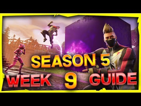 Fortnite Season 5 Week 9 Challenges Guide And Locations