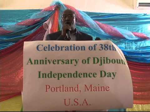 DJIBOUTI'S  38th ANNIVERSARY PORTLAND MAINE 2015