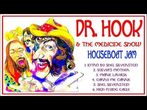 Dr Hook @ Shel Silverstein's Houseboat, Sausalito, San Francisco, CA, 1972.