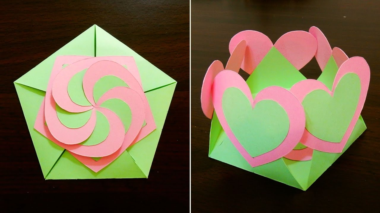 Gift Envelope Sealed With Hearts Learn How To Make A Gift Card With Interlocking Hearts Ezycraft