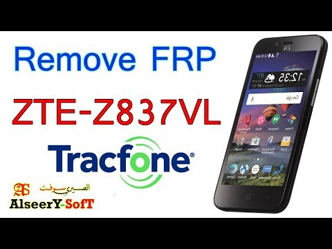 How to Bypass FRP ZTE Z837VL TracFone | Google account