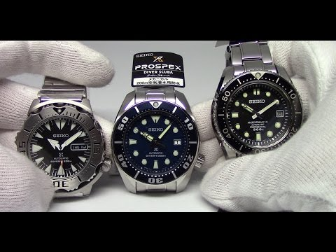 Seiko Monster to Sumo to Marine Master - Overview of Seiko Divers
