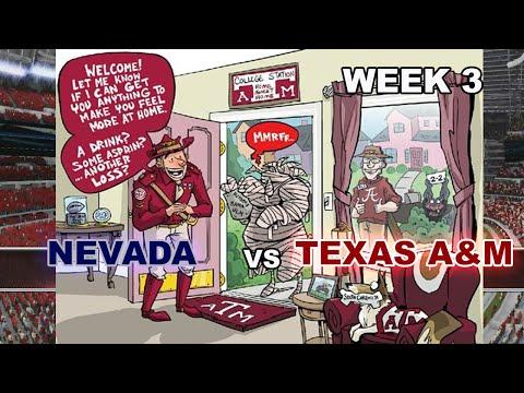 2015 Week 3- Nevada (cpu) at #17 Texas A&M (cpu)