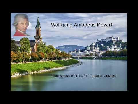 Musica Instrumental Piano Mozart  II N°11 K331 I Andante Grazioso