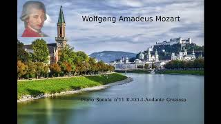 Gambar cover Musica instrumental piano Mozart  II N°11 K331 I Andante Grazioso