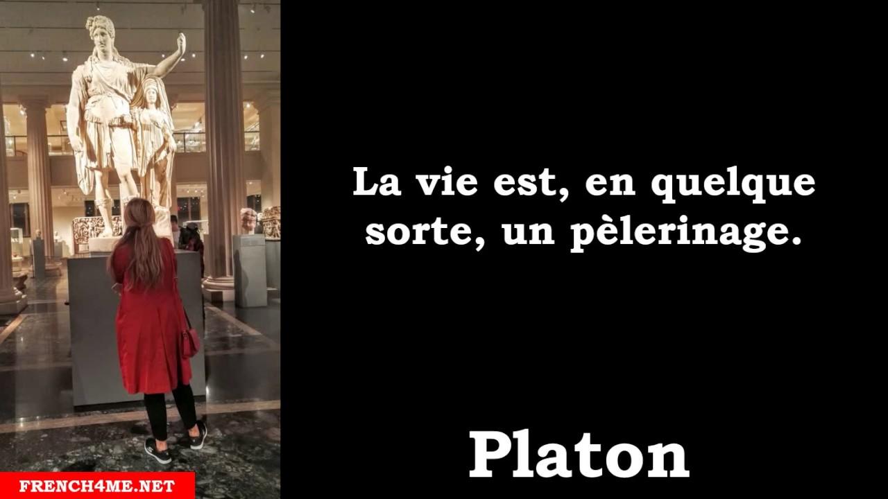 Citation Philosophique La Vie Est En Quelque Sorte Un