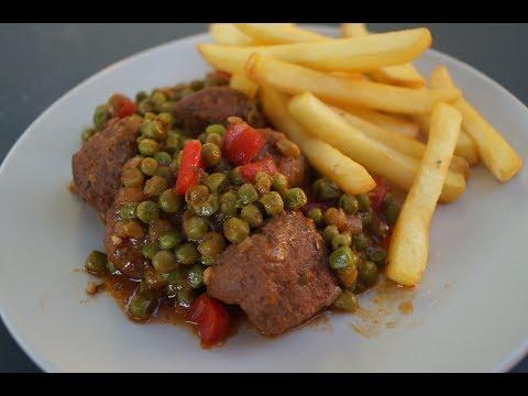 boulettes-de-viande-hachée-de-boeuf-sauce-tomate
