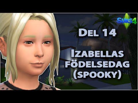 Sims 4 | Fosterhemsutmaningen | Annikas uppväxt | Del 14: Izabellas födelsedag (spooky)