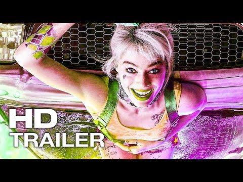 ХИЩНЫЕ ПТИЦЫ Русский Трейлер #1 (2020) Марго Робби, Харли Квинн DC Superhero Movie HD