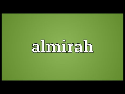 Almirah Meaning