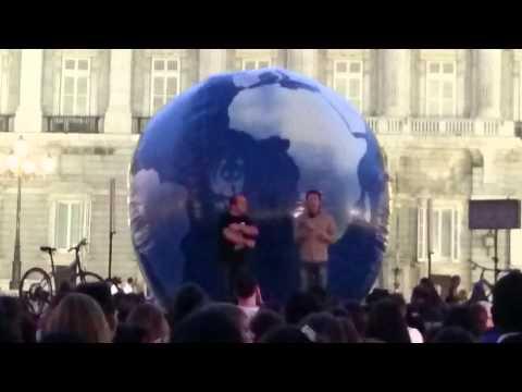 Jacob Petrus en la Hora del Planeta 2015 Madrid