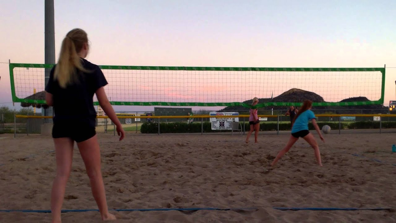 Victory Lanes Beach Volleyball 6/10/15 - YouTube