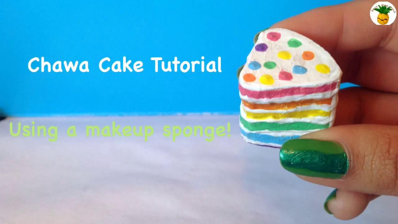 Rainbow Chawa Cake Squishy
