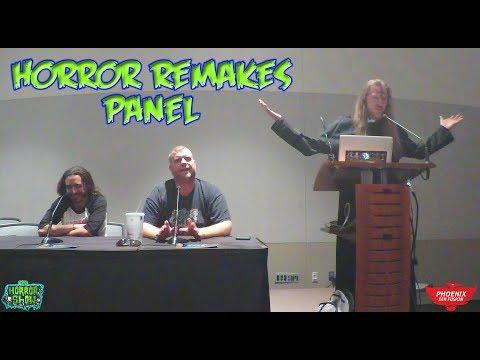 HORROR REMAKES PANEL - Phoenix Fan Fusion 2019 - The Horror Show
