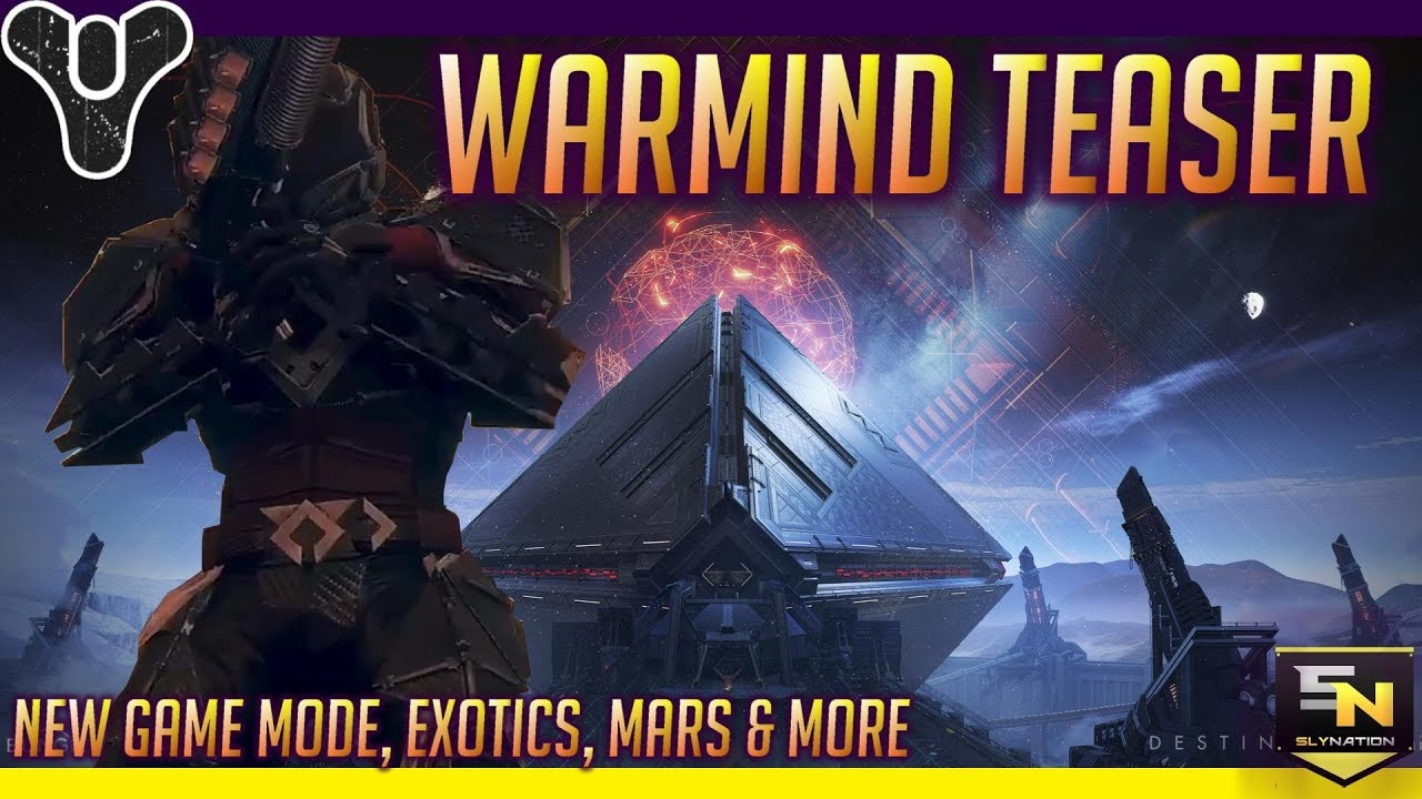 Destiny 2 | Warmind Teaser Breakdown- Exotic Sword, Hive Escalation  Protocol, Armor, & More!