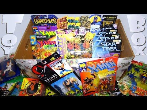 What's in the box: Random Carded ACTION FIGURES! X-Men, Star Trek, Batman + MORE