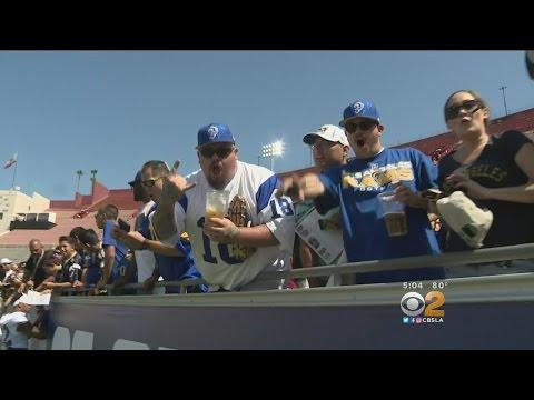 LA Rams Host Family Day At LA Coliseum