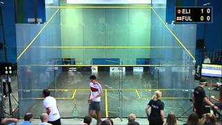 WSF World Squash Junior Championships 2013 , Elias - Fuller