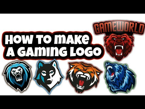 HOW TO MAKE GAMING LOGO  GAME WORLD - YouTube