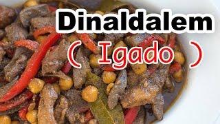 Dinaldalem Recipe | Igado | How to Cook Pork Liver | Panlasang Pinoy