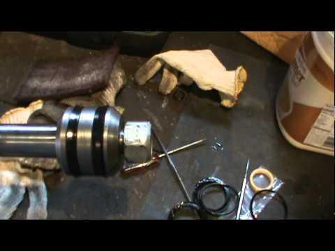 hydraulic cylinder rebuilding  YouTube