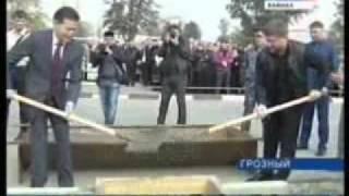 Рамзан Кадыров, Кирсан Илюмжинов, Грозный