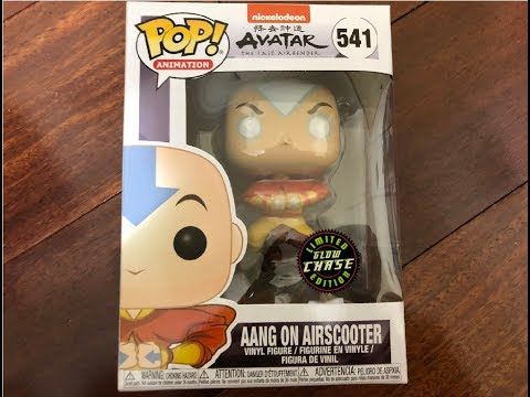 Aang On Airscooter Chase Funko Pop!