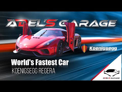 Koenigsegg Regera, World's Fastest Car At Adel's Garage By Dr. Adel Quttainah