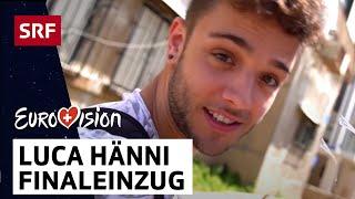 Luca Hänni: Finaleinzug | Eurovision 2019 | SRF Musik