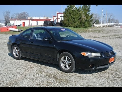 2002 Pontiac Grand Prix Gt Coupe For Sale Dealer Dayton Troy Piqua Sidney Ohio 26987b