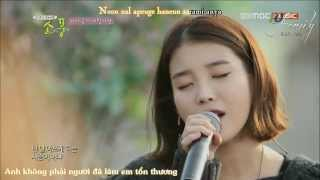 [Vietsub + Kara] Sometimes I want to hug you like crazy - IU (live) mp3