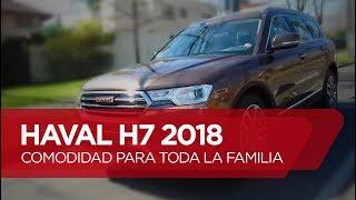 Haval H7 2018 - Comodidad para toda la familia