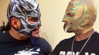 "Kalisto and Rey Mysterio ""So Blessed"" Ft. Best Luchadors"