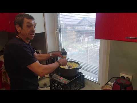Приготовление борща на ужин Батя готовит борщ  рецепт борща
