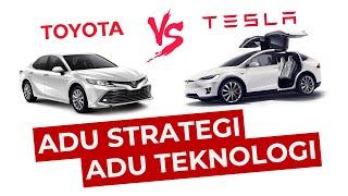 Tesla vs Toyota: Adu Strategi dan Teknologi. Siapa Menang?