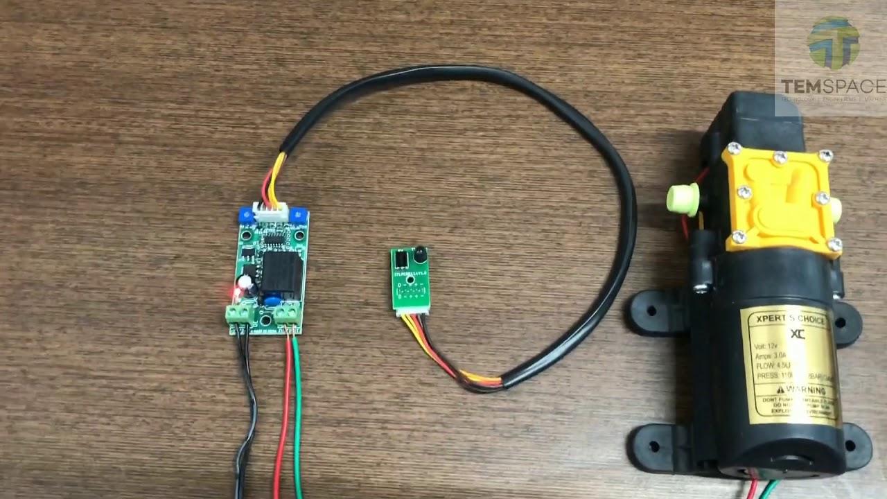 Download AUTOMATIC HAND SANITIZER CONTROLLER USING TSOP SENSOR  KIT   PCB   CIRCUIT #On_trending