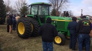 Dean Moll Farm Auction 11/12/14: John Deere 4230 and 4450 Tractors