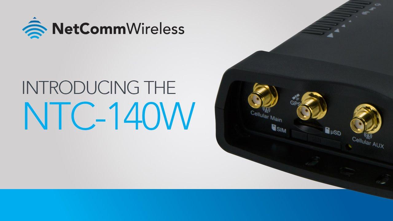 Buy the Netcomm NTC-140W-02 Industrial 4G LTE M2M Wi-Fi