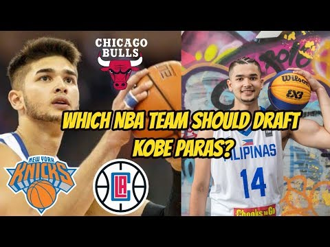 Kobe Paras to the Chicago Bulls? Potential NBA teams interested!