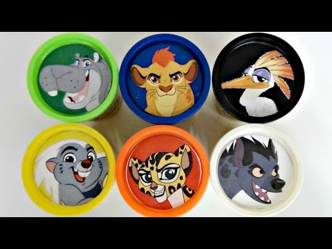 Thumbnail: Disney Jr. THE LION GUARD Learn Colors, Animal Sounds, Play doh Toy Surpirses / TUYC