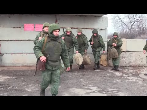 OSTUKRAINE: Truppenentflechtung zwischen