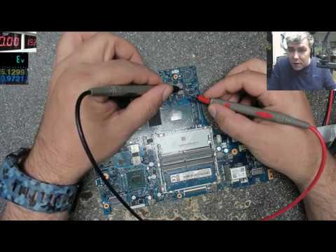 How To Diagnose A Laptop Motherboard - Motherboards Repair Lesson